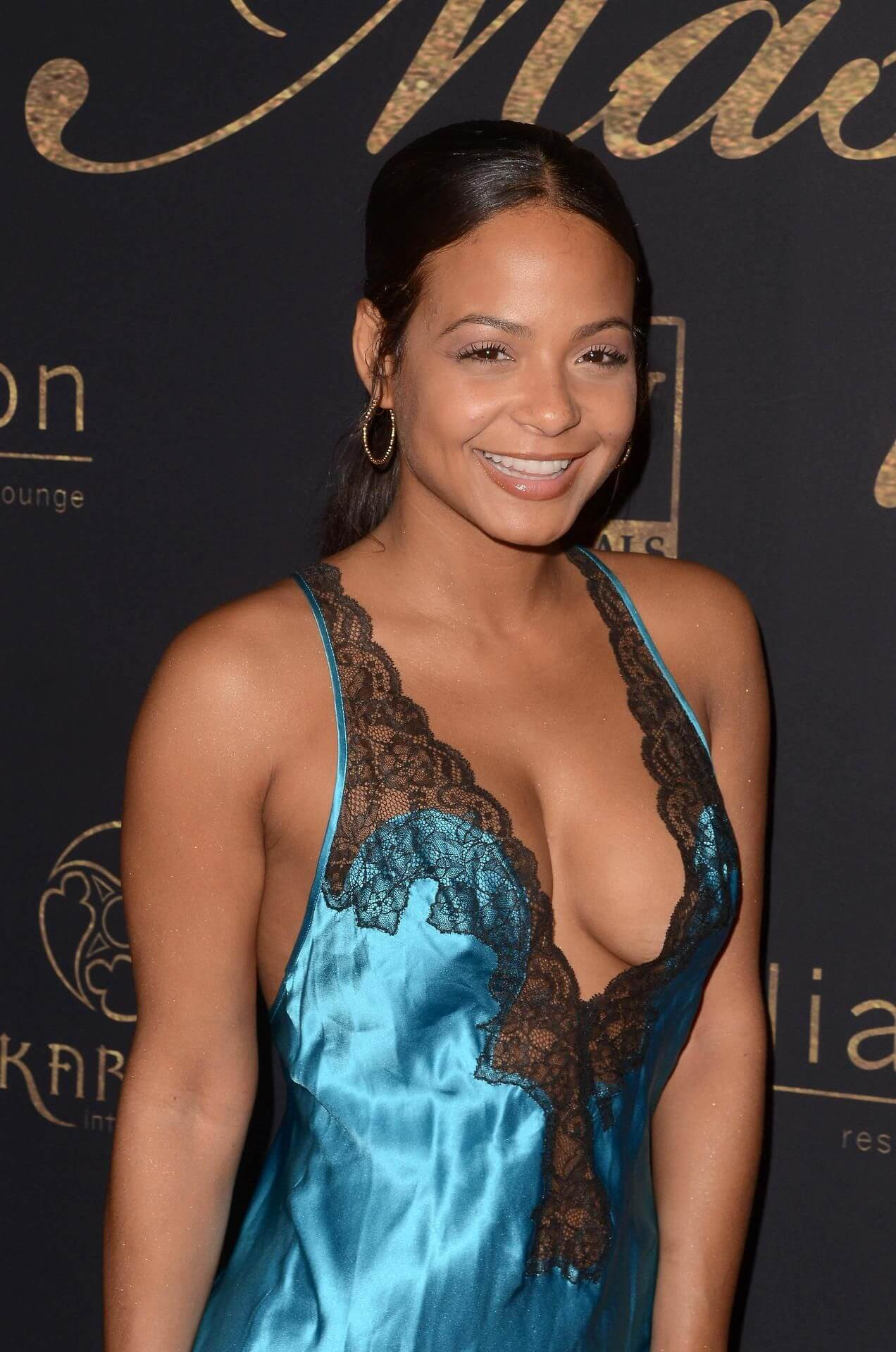 CHRISTINA MILIAN SHOWS OFF HER BABY BUMP AND TALKS ABOUT