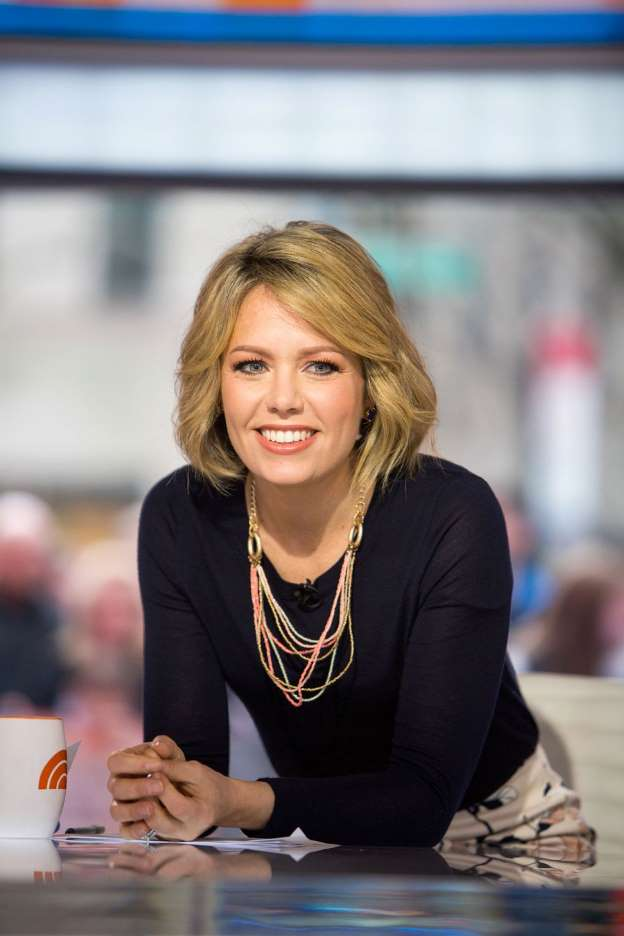 Dylan Dreyer, weather anchor for Weekend TODAY, co-host of