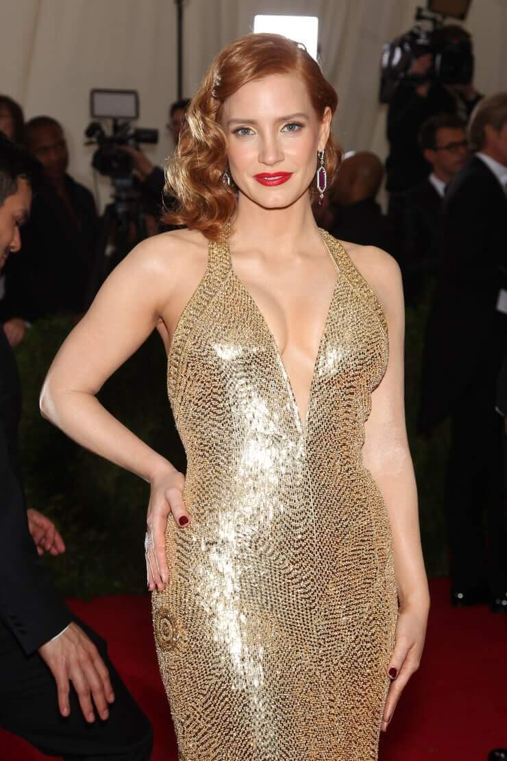 49 pictures of sexy jessica chastain boobs are just pretty