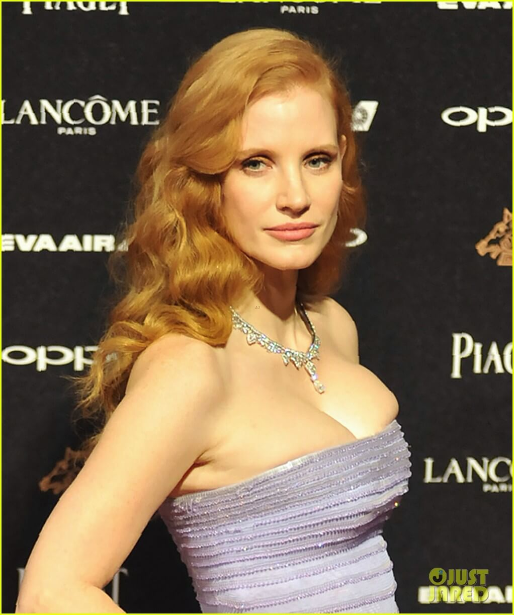 Topless jessica chastain Jessica Chastain