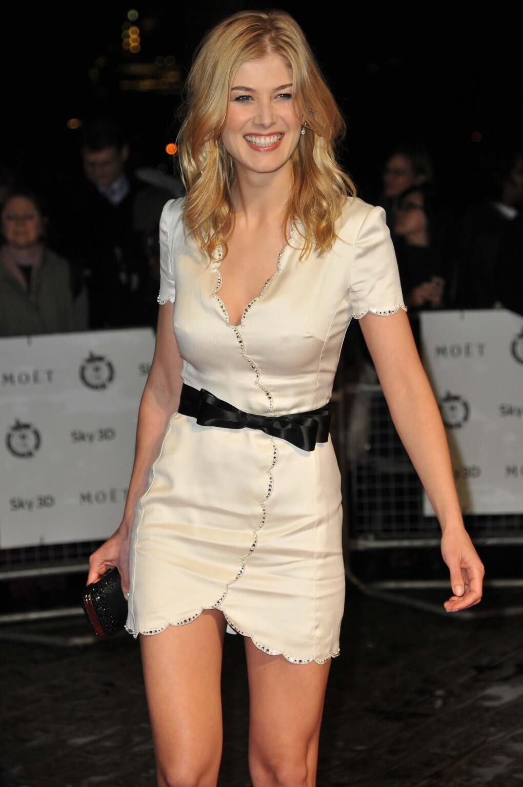 49 sexy photos of Rosamund Pike Boobs make you want to