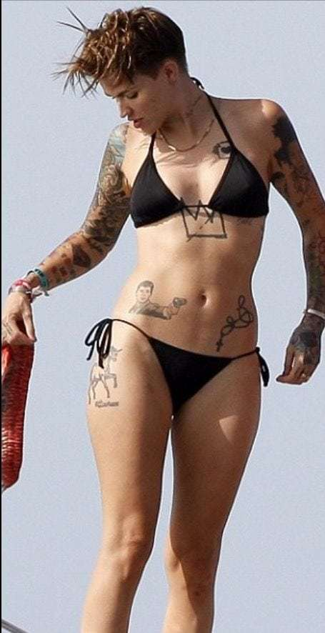 Ruby Rose - Top 10 famous hot lesbian celebrities