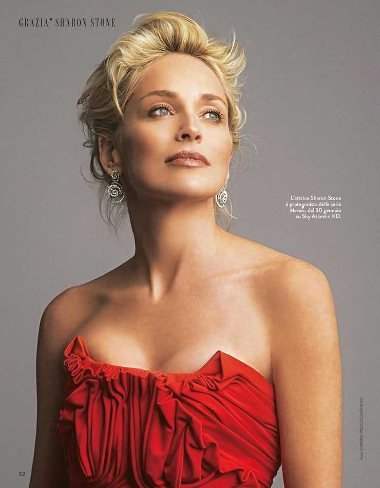 49 hottest photos of Sharon Stone boobs will shock your