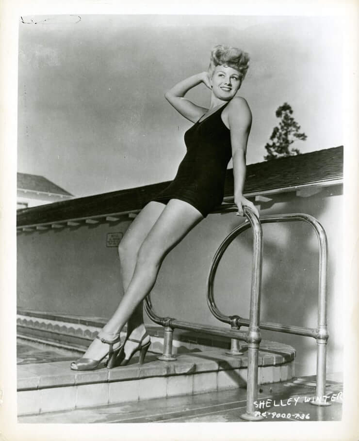 Shelley Winters  nackt