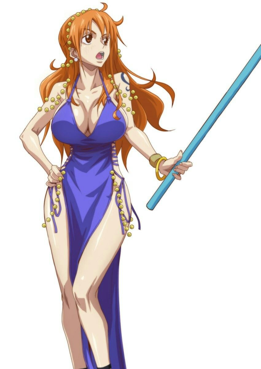 49 hot photos by One Piece Nami are really amazing