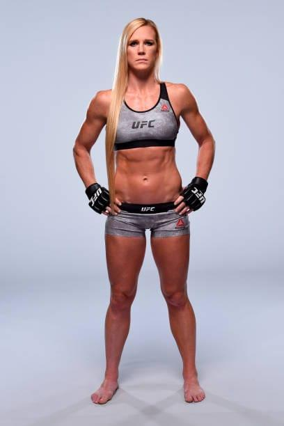 Holly Holm  nackt