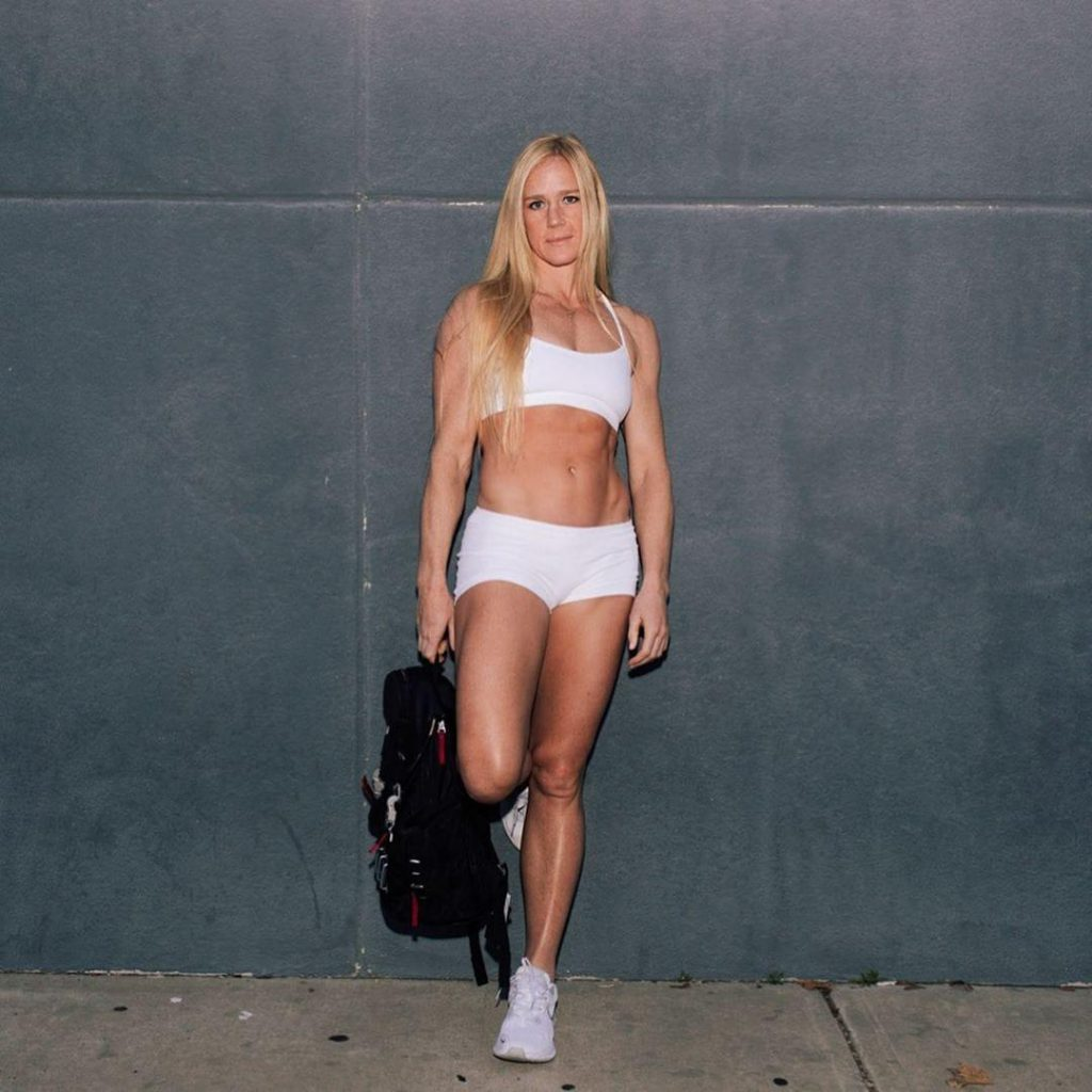 Holm  nackt Holly UFC champion
